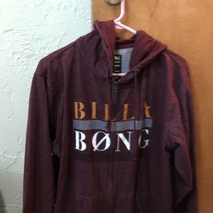 Billabong Jackets & Coats - Billabong zip up hoodie